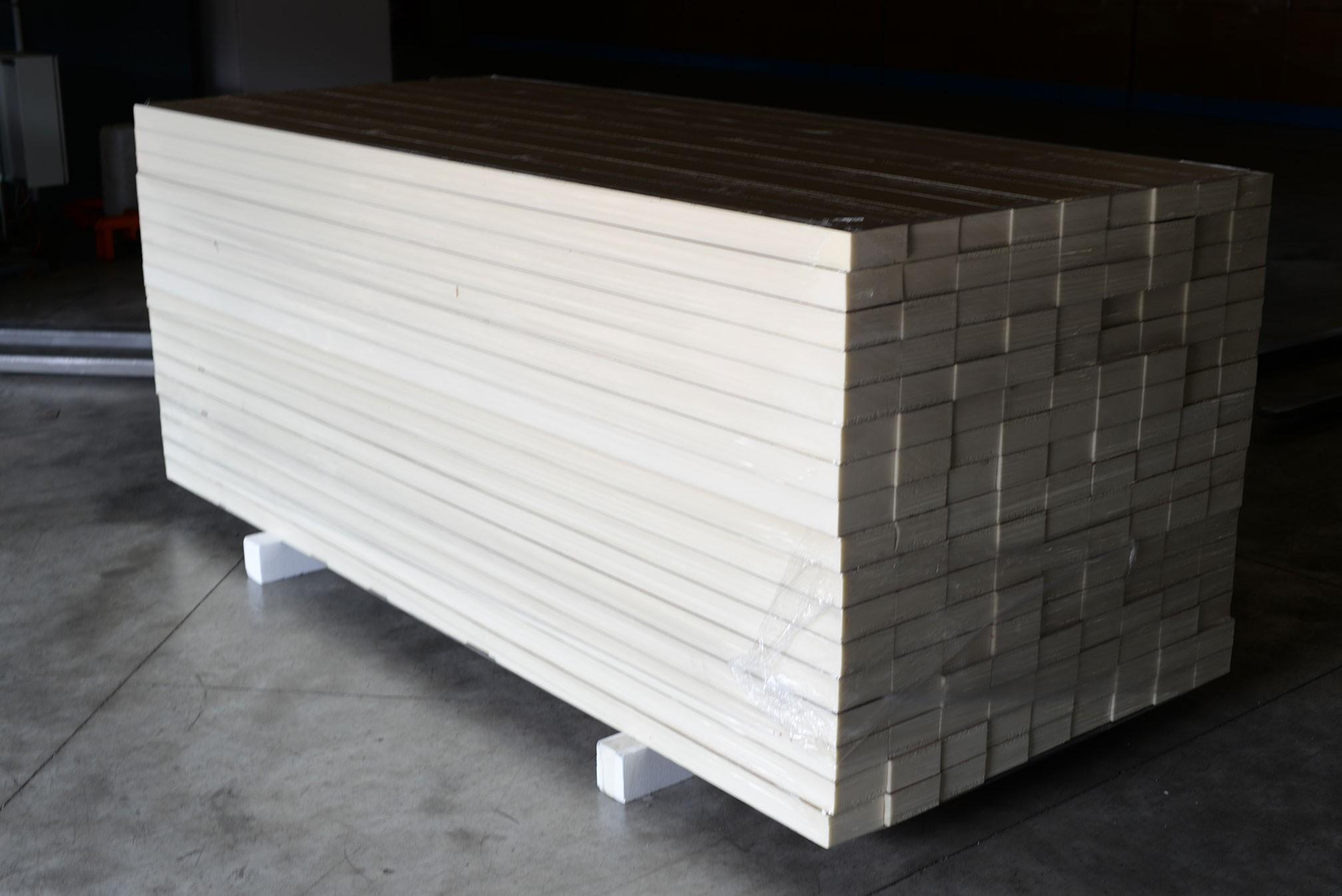 Lot de 153  plaques ALU 60mm (2660x127)