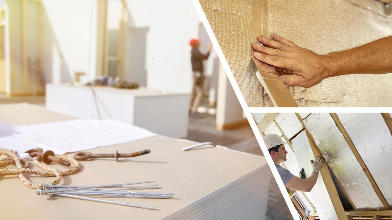 panneaux isolants, isolation, panneaux polyurethane, construction, renovation